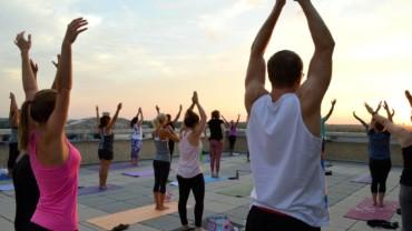 Santé Rooftop Yoga
